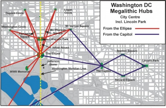 Washington DC's Megalithic Hubs